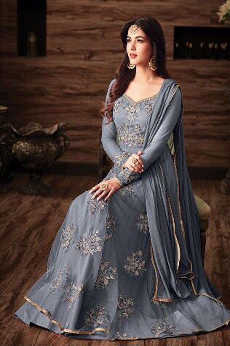 dd5008ef41 ... http://www.gebastore.com/grey -color-net-fabric-embroidered-wedding-wear-stylish-indian-occasionally-look- sonal-chauhan-heavy-anarkali-suit-4807.html …