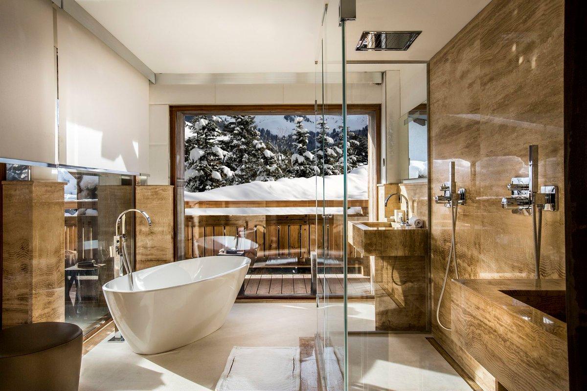 "Salle De Bain Chalet cimalpes ski on twitter: ""le chalet blackstone et sa salle"