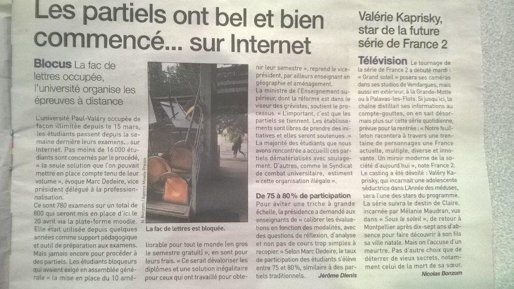 Calendrier Paul Valery.Scum Montpellier On Twitter L Universite Paul Valery