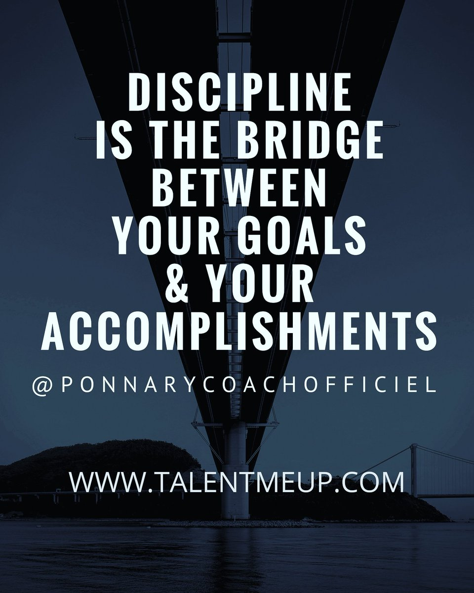 RT @CoachPonnary: #discipline #focus a strong #mental are the keys to your #success #takeaction now #dayone #motivation #determination #talentmeup #driveyourmentaltosuccess #goforit #ambition  #mindset #entrepreneur #business #manager #leader #challenge …<br>http://pic.twitter.com/GkaQRYQV8F