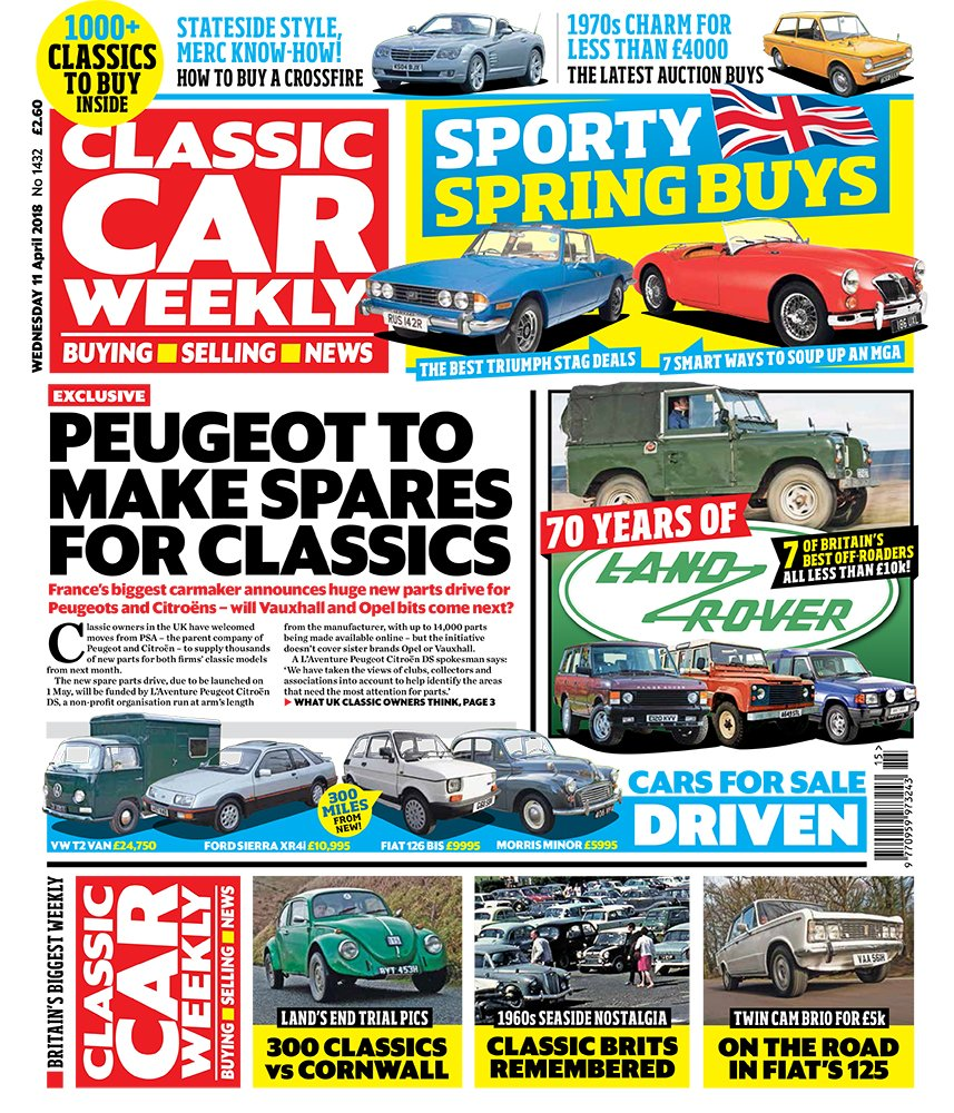 Classic Car Weekly (@ClassicCarWkly) | Twitter
