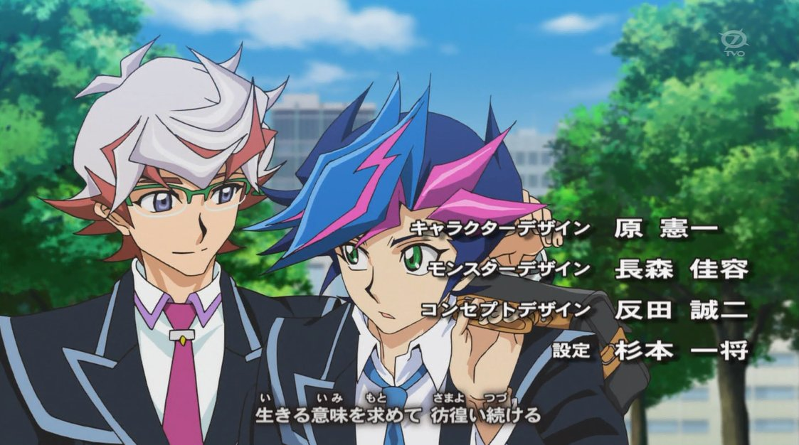 新キャラだ! #VRAINS https://t.co/HdOxGSJFhY