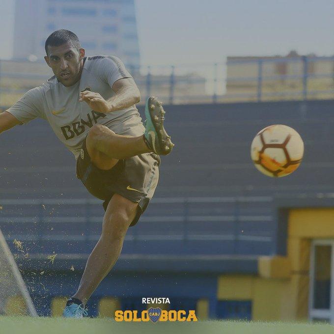 #EntrenamientoBoca Foto