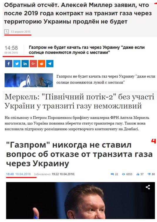 """""""Контракт по транзиту через Украину продлен не будет, но это не значит, что транзита не будет"""", - зампред правления """"Газпрома"""" Медведев - Цензор.НЕТ 2863"""
