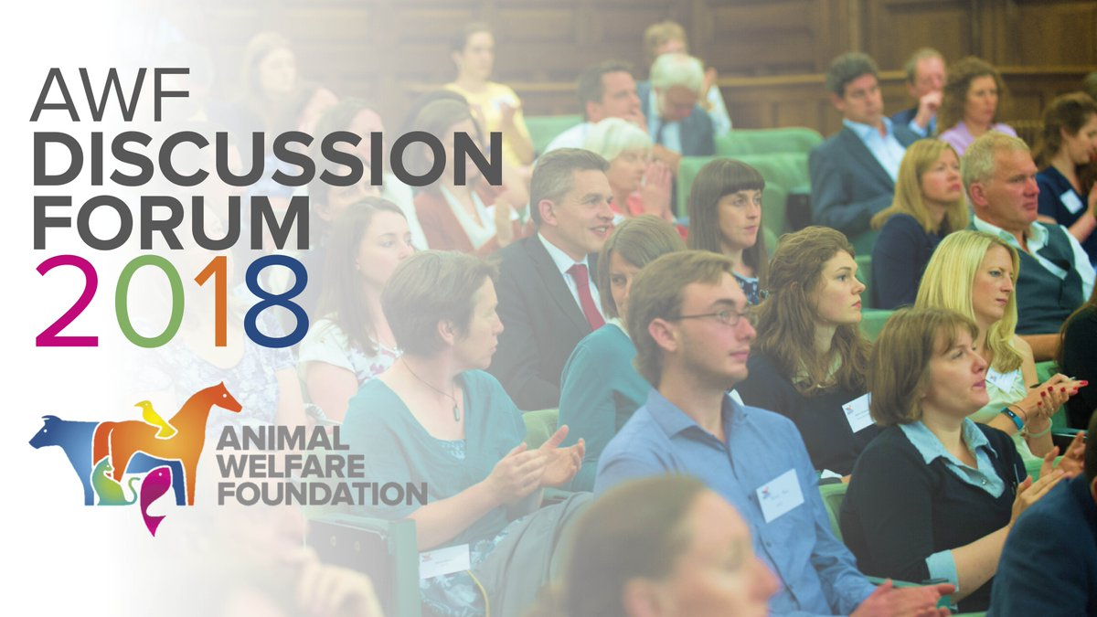 Have you booked your Discussion Forum ticket yet? Don't miss out on one of the most informative events in the veterinary calendar #AWFDebate #vets #vetnurse  https://www. bva-awf.org.uk/2018-discussio n-forum &nbsp; … <br>http://pic.twitter.com/Vc0KYWFbQK