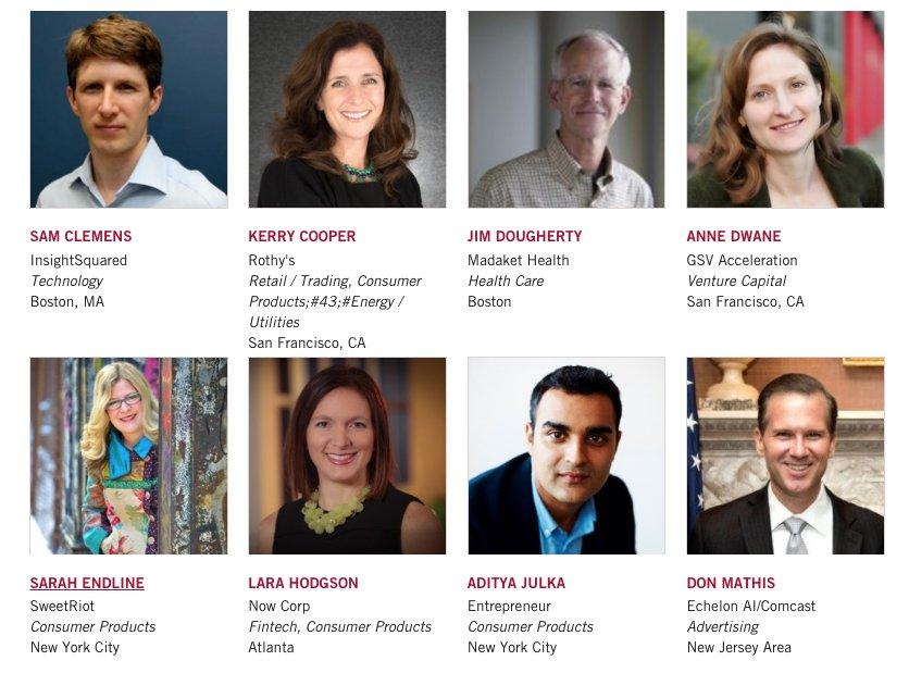 Meet the Entrepreneurs-in-Residence. https://t.co/jIdgPTuBLH #HBSNVC