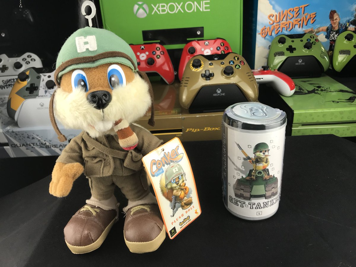 Xbox Addict On Twitter Conker Seems Excited To Be Coming Back