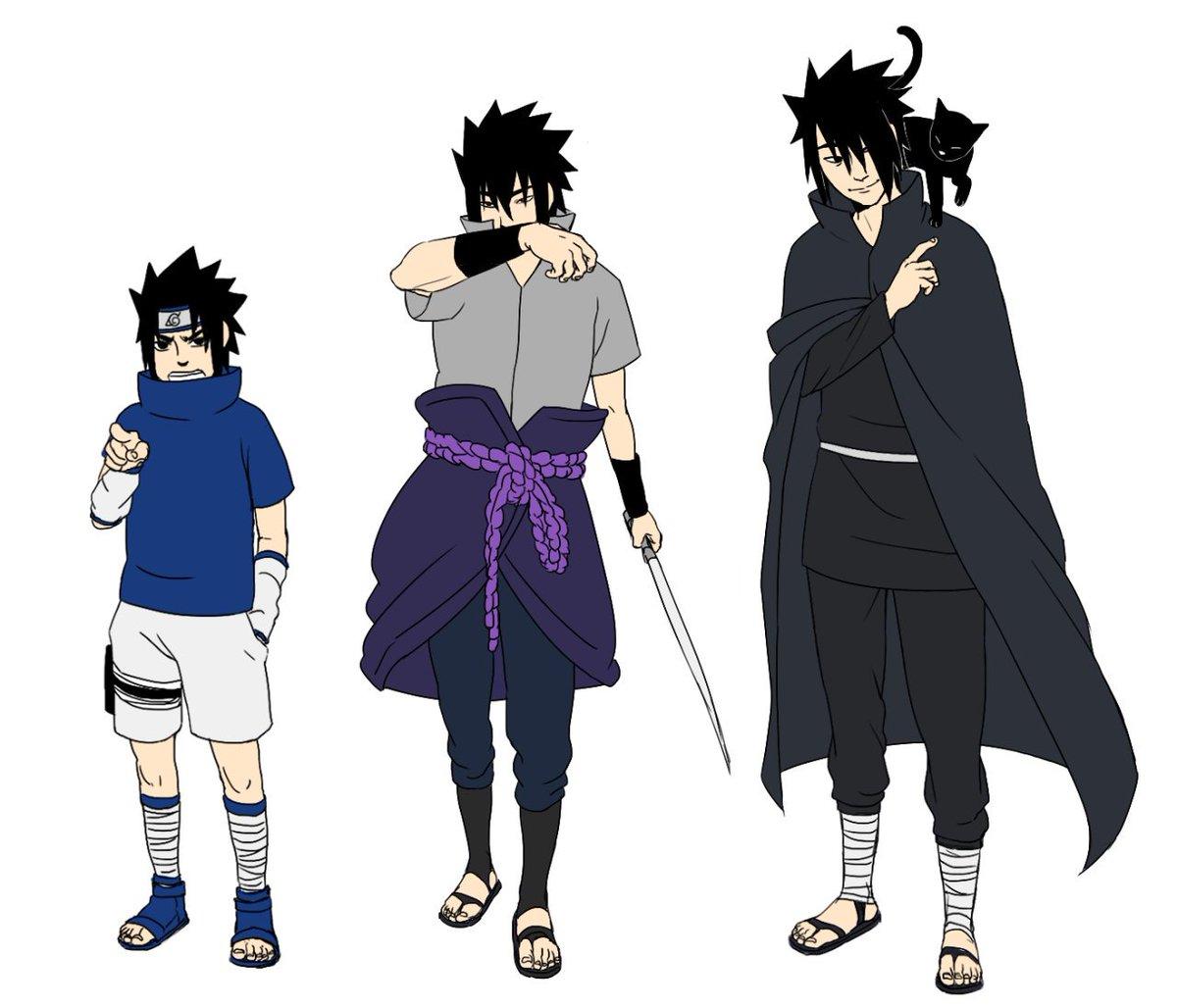 favorite sasuke outfits