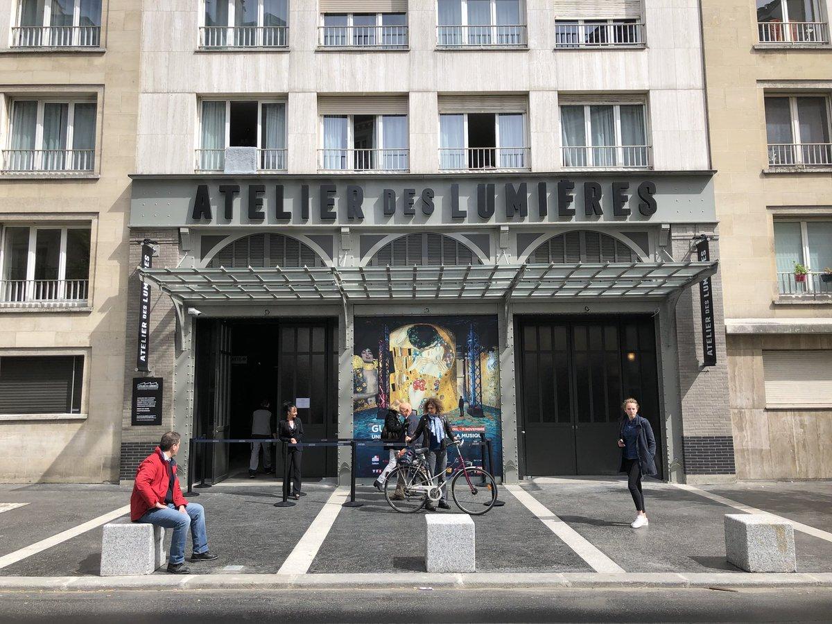 Image result for atelier des lumieres paris