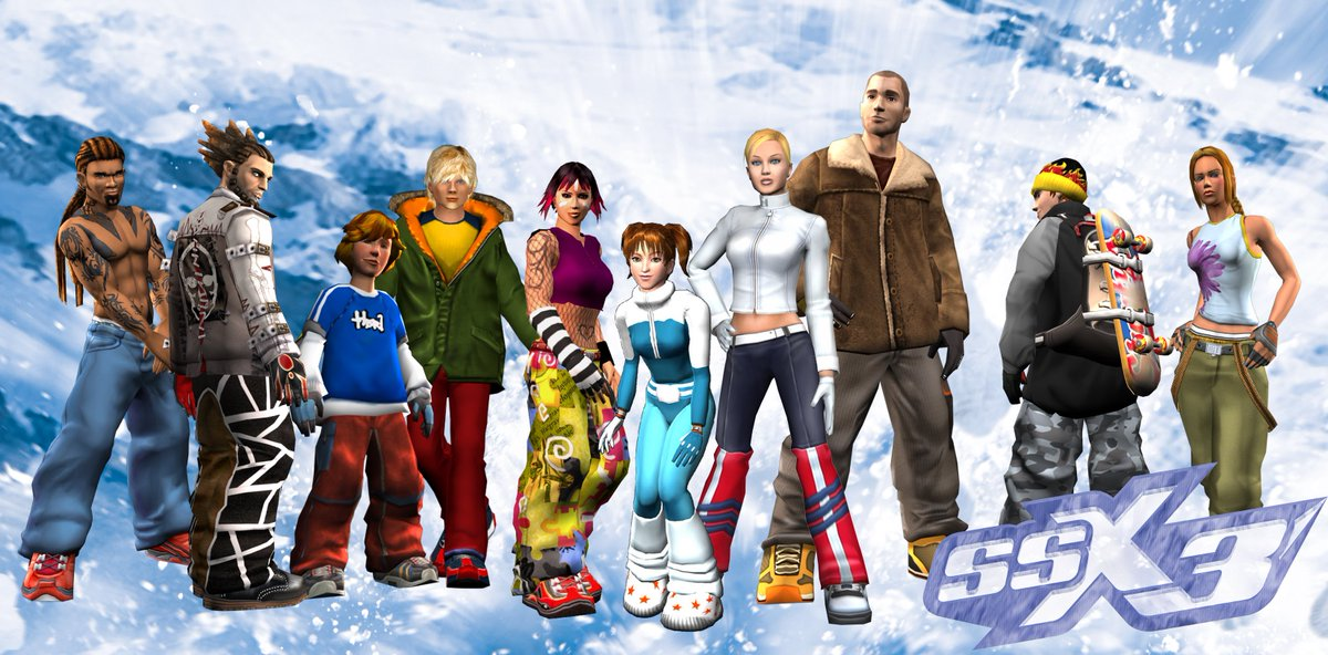 "EA UK on Twitter: ""SSX 3 is co..."