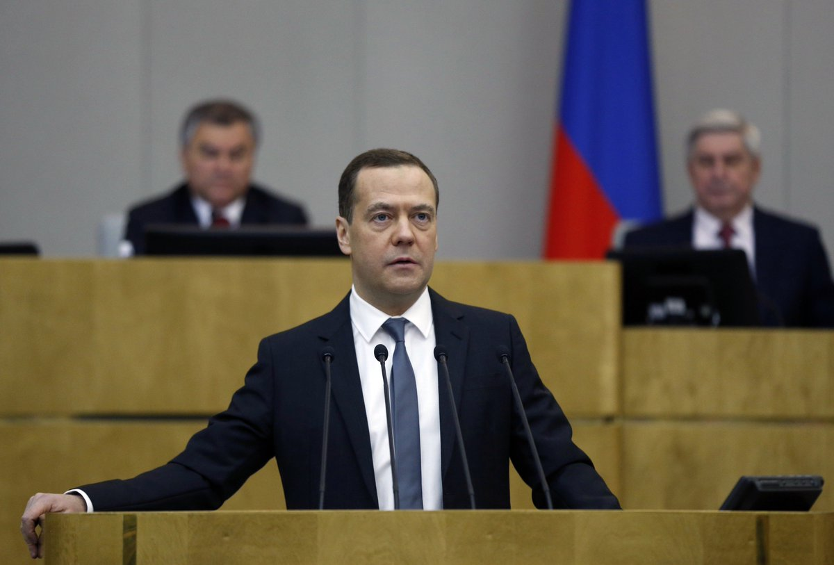 Dmitry Medvedev addressed the State Duma to report on the Government's work government.ru/en/news/32246/