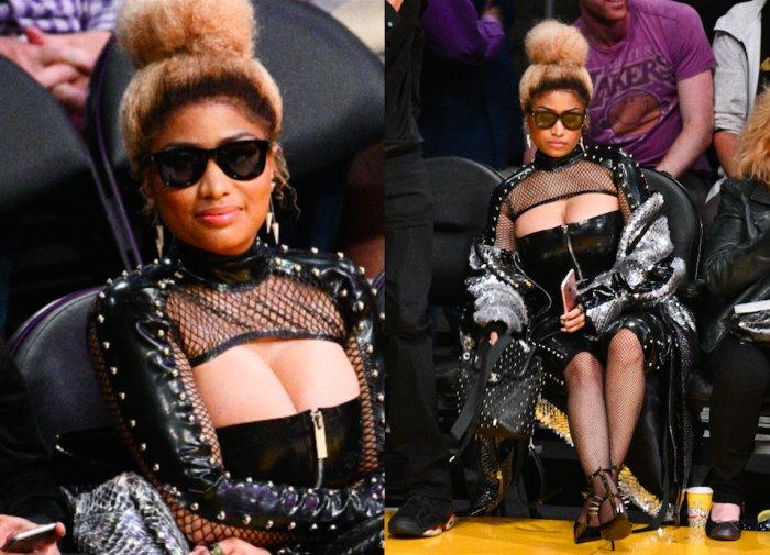 d0e08a0f6a Nicki Minaj Courtside   Latest News