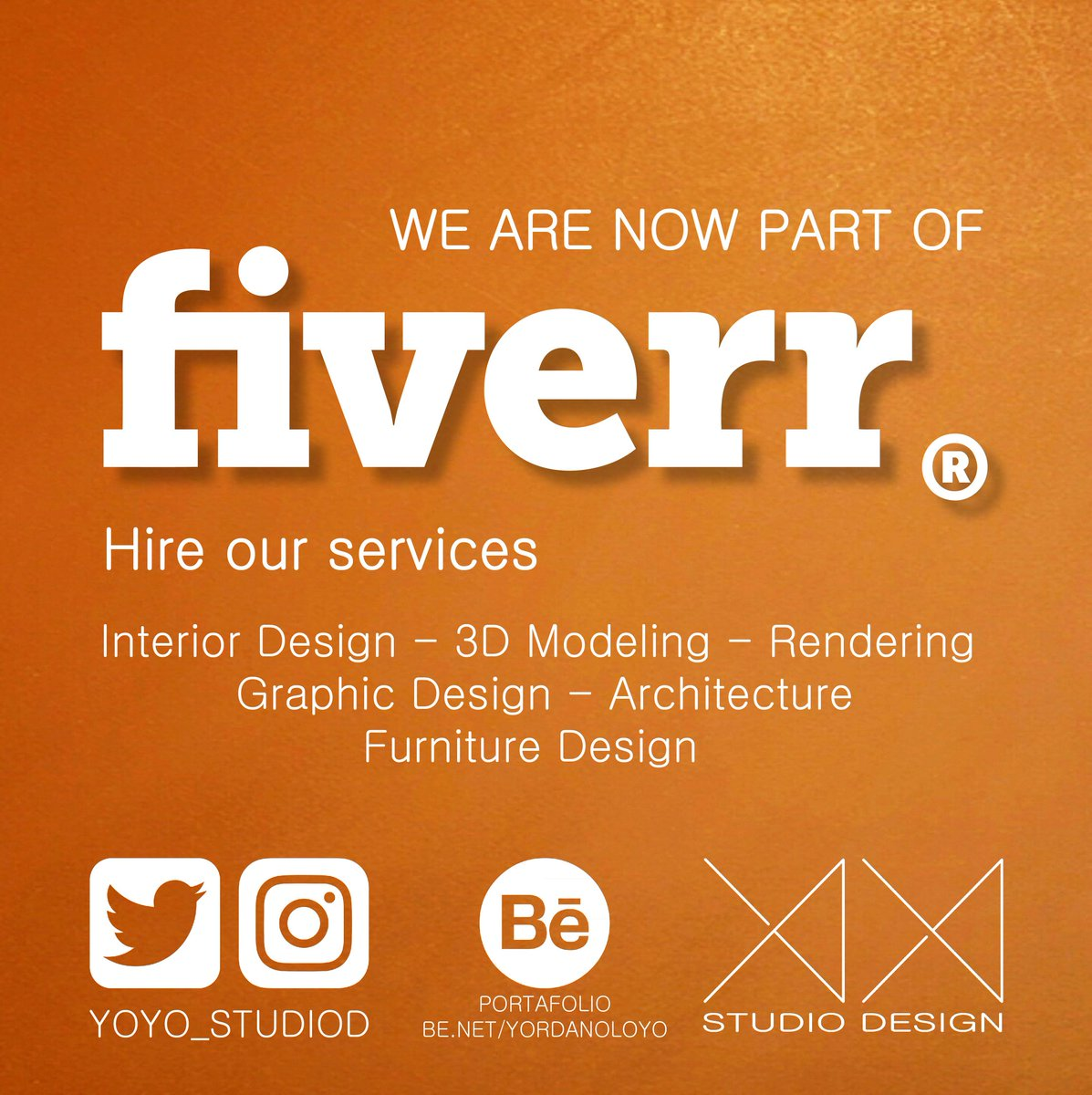 We are on @Fiverr Contact us!!! Let&#39;s work together  #3DModeling #Rendering #InteriorDesing #16Abr #GraphicDesign #FurnitureDesign #Design #Architecture #FelizLunes #MondayMotivation     https:// goo.gl/dYA65X  &nbsp;   <br>http://pic.twitter.com/f1OnFNDjI0