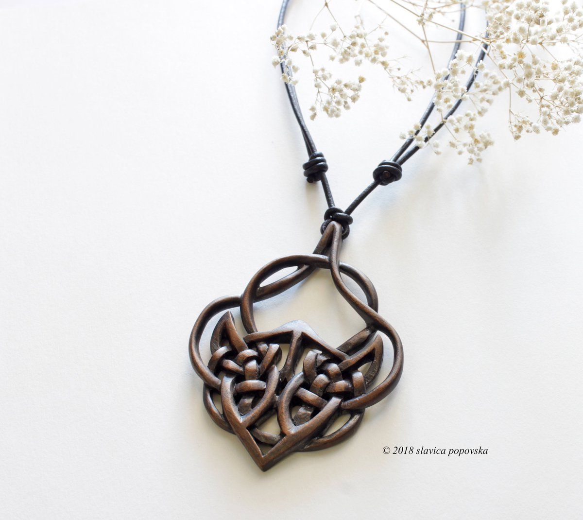 pendant wooden carving abstract ayutribaljewelry crawling necklace style wood products dragon tribal