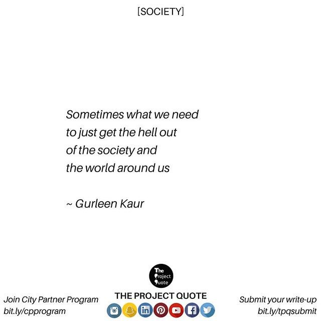 The Project Quote Theprojectquote  Twitter