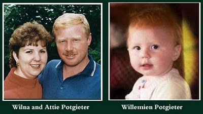 Image result for willemien baby murdered