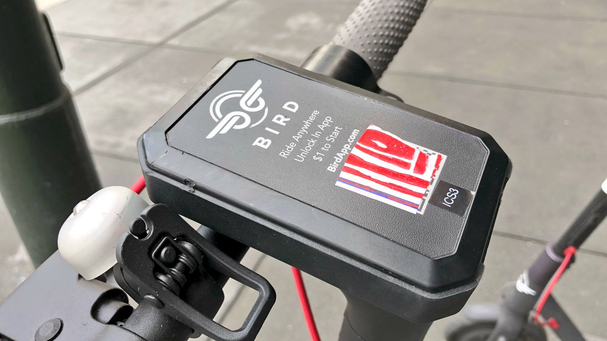 Bird scooters placed in the middle of sidewalks people putting stickers over the unlock codes jump bikes with slashed tires pic twitter com 8nmxhzaczy