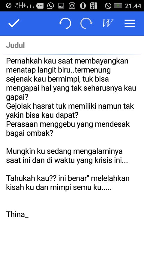 Thina On Twitter Quotes Pejuang Mimpi