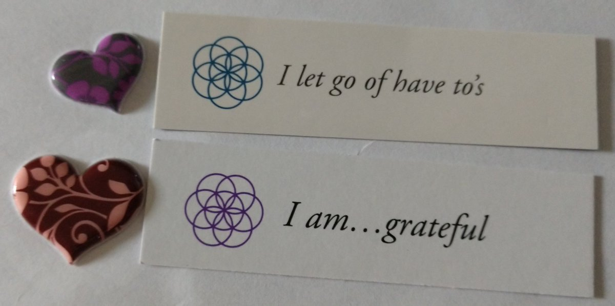 test Twitter Media - Today's Positive Thoughts: I let go of have to's and I am...grateful. Randomly selected from my #inspirational card sets. #affirmation https://t.co/WmisQVljrx