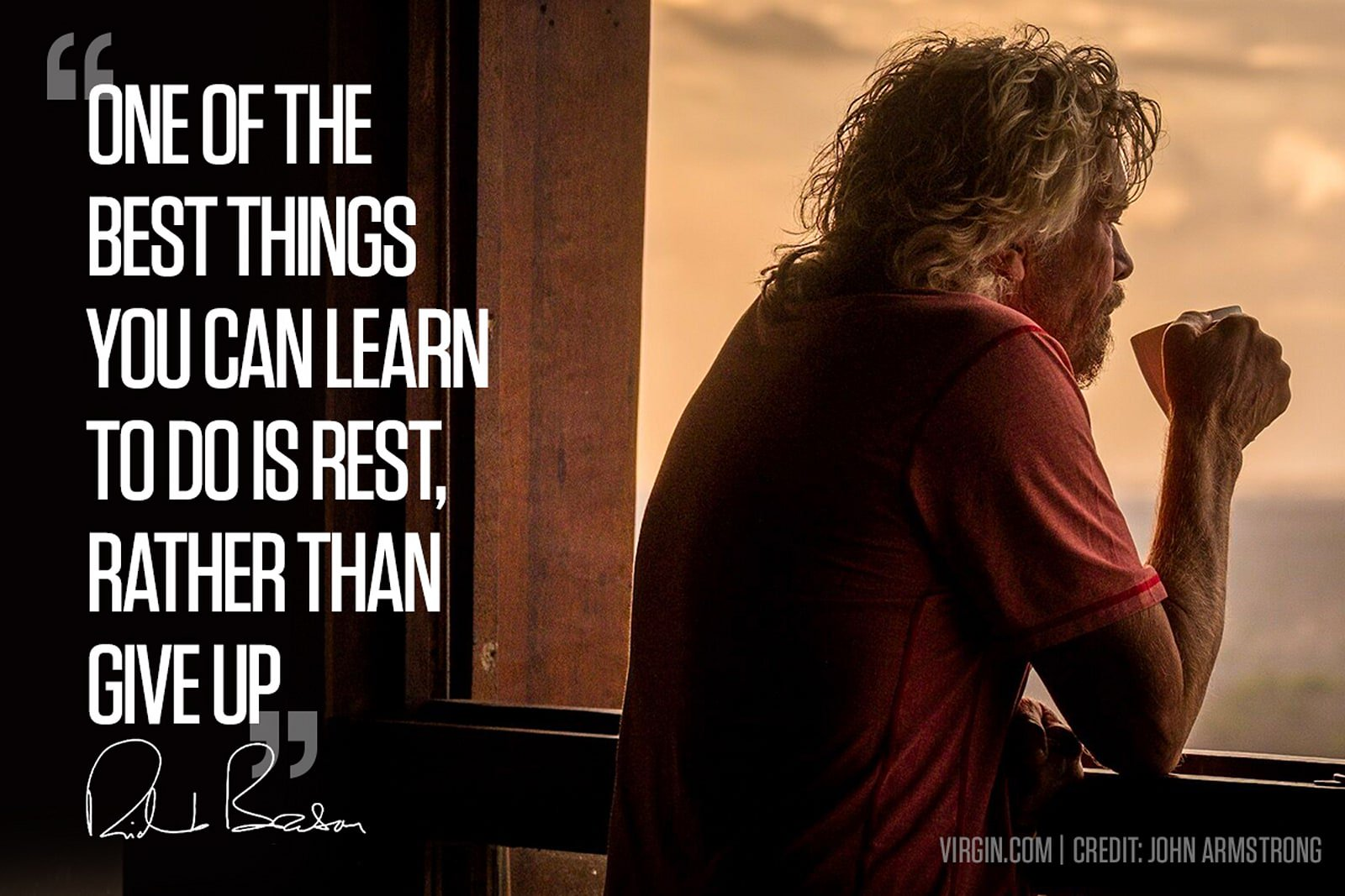 Richard Branson If youu0027re feeling frustrated or