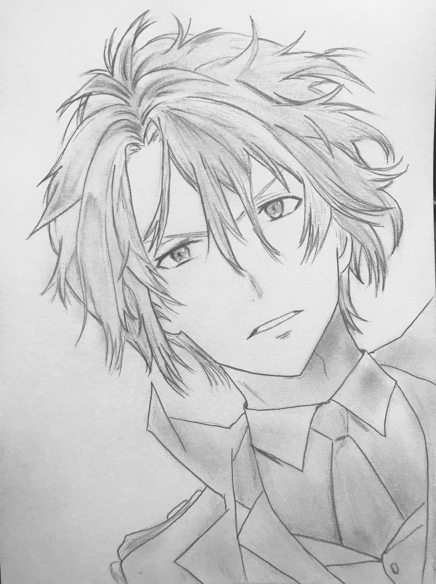 Anime drawing sketch art shading manga artist kawaii japanese anime guy boy cute pencil pencilart pencildrawingpic twitter com a6j0g8tqom