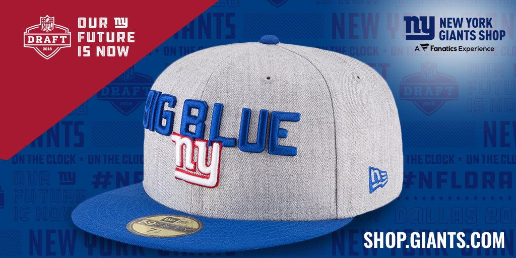 Get your  NYGiants draft cap NOW  https   bit.ly 2qoSh1J  pic.twitter.com hBDKZNz5zF f2564c6e9ea
