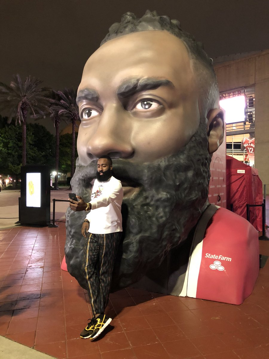 #ad My @StateFarm agent gets me so well, its like hes inside my head... Now @HoustonRockets fans know what thats like 🤔