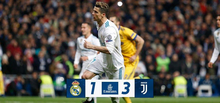 Chấm điểm kết quả Real Madrid 1-3 Juventus