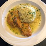 We have added 2 pasta dishes to our new menus, including the DELICIOUS Chicken Francaise (boneless chicken breast with egg batter and a lemon white wine sauce over capellini).