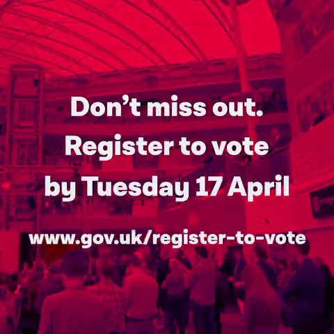 Are you ready to vote in the local elections? Register now → https://t.co/nqlfJdc91I  #VoteLabour https://t.co/1T2YzTcVhJ