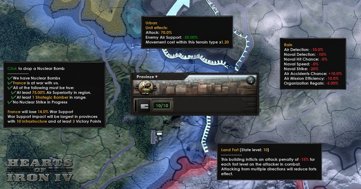 hearts of iron 4 land combat