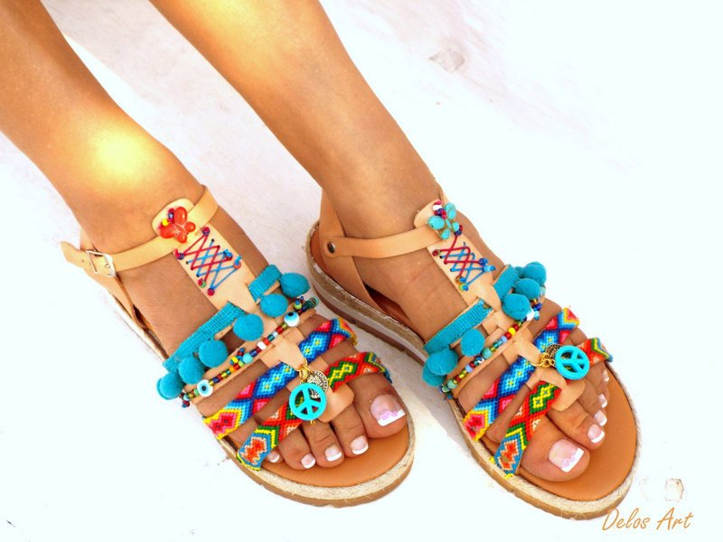0aba86883c30c ... Friendships Boho Sandals
