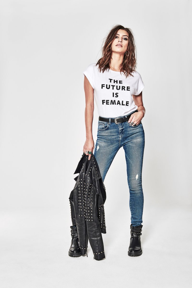 The Future Is Female // Get the look here > https://t.co/xY6f4S0vTM https://t.co/vu2QYgh0X2