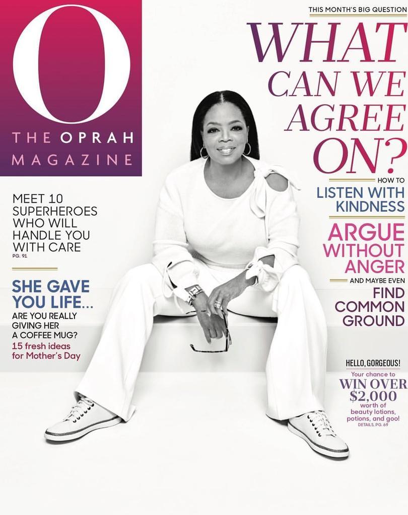 Issa Queen. #Oprah