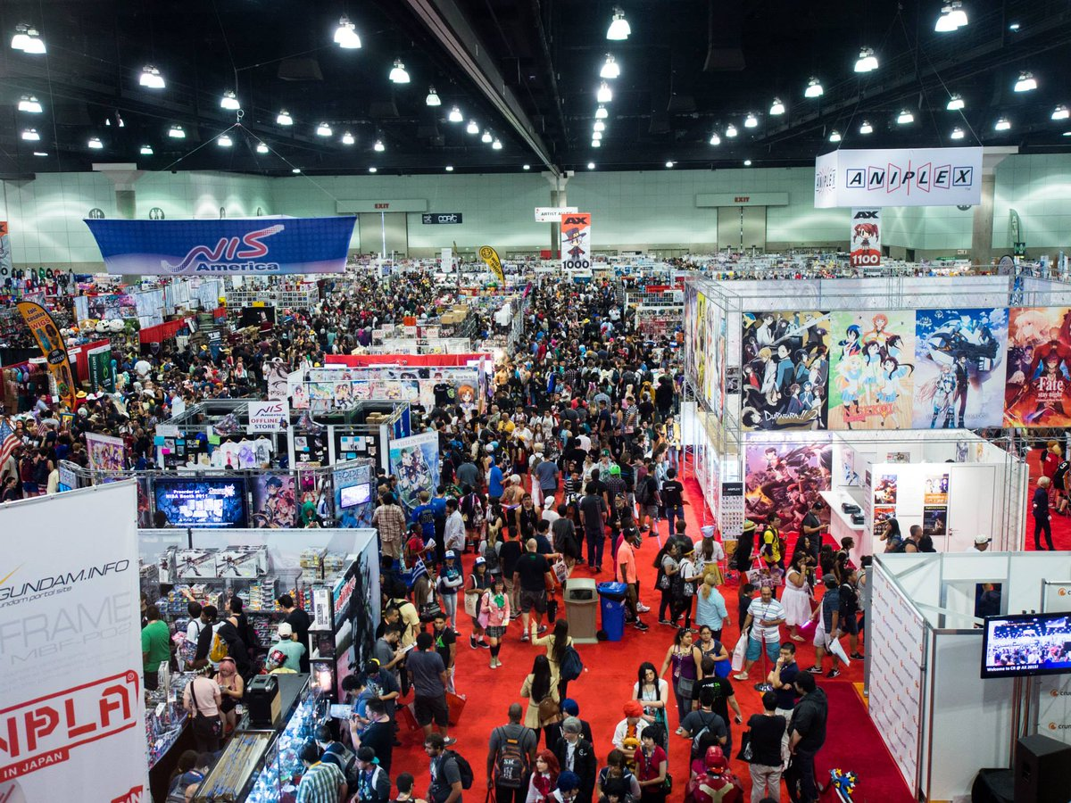 Anime Expo On Twitter Weve Updated The Exhibitor List Our Website To Link Out MapYourShow Which Will Provide More Info About Exhibitors