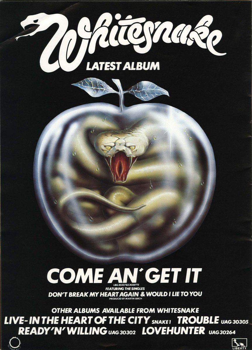 David Coverdale On Twitter Happy 37th Anniversary To Come Get
