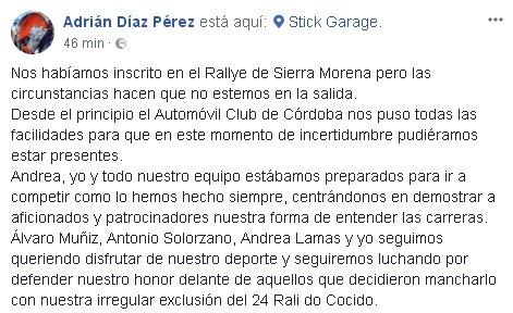 CERA: 36º Rallye Sierra Morena - Internacional [12-14 Abril] - Página 2 DahkzzpXcAAVtdM