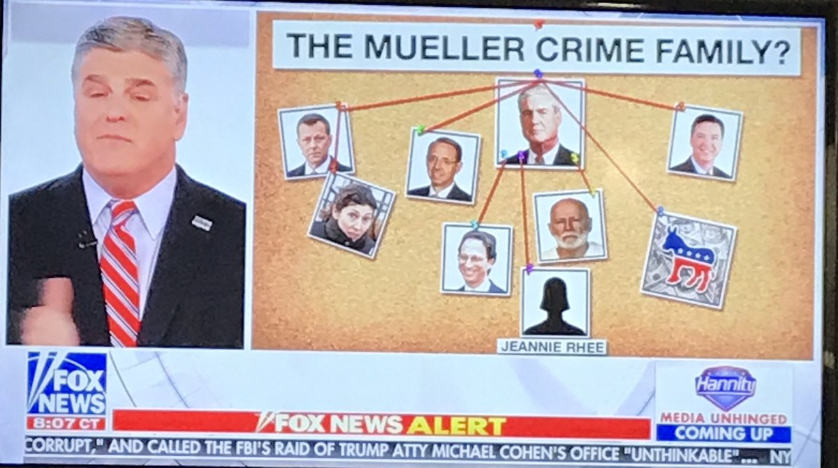 Hannity Compares Robert Mueller To Stalin Crooks And Liars