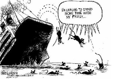Image result for rats deserting a sinking Liberal party ship meme