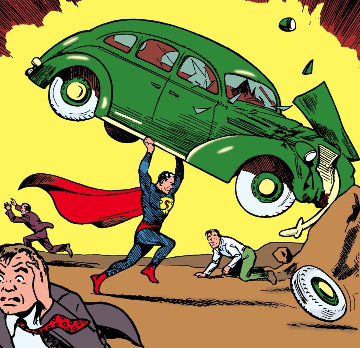 Resultado de imagem para superman primeira capa