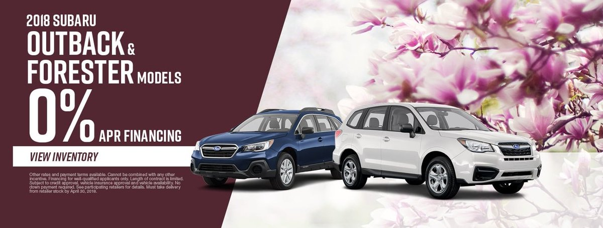 Subaru 0 Financing >> Byers Subaru Dublin On Twitter For 0 Financing On 2018