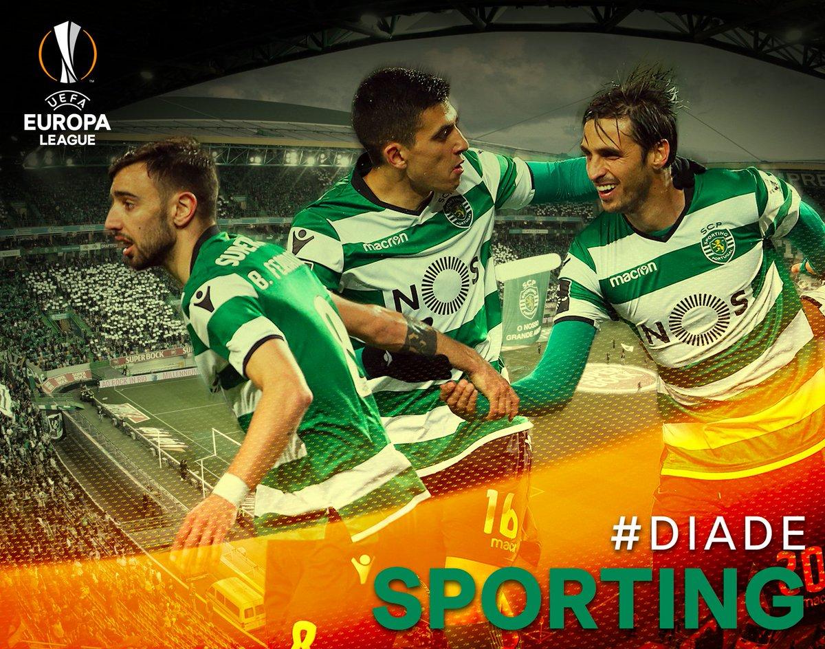 Hoje nada mais importa. Quando entrarmos em campo, só o Sporting interessa. Lutar como Leões! #DiaDeSporting