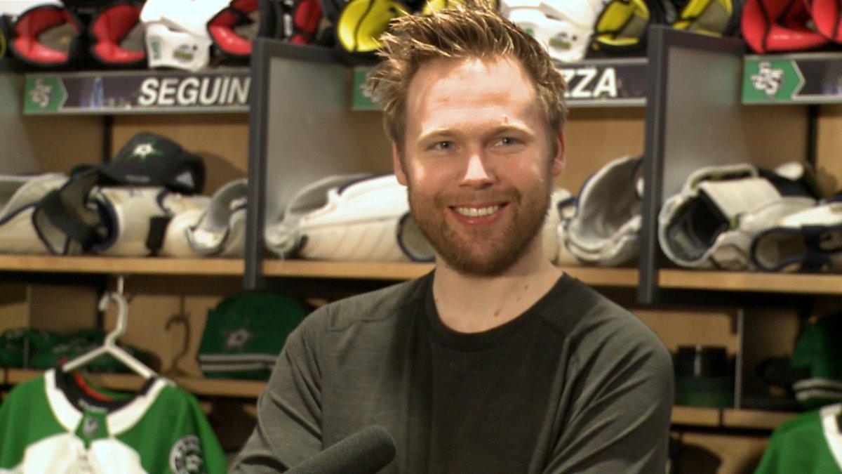 Kari Lehtonen talks about his improved play in net this season and what the city of Dallas means to him.