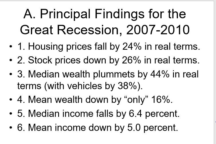 the effect of the great recession The great recession of 2008–09: the ripple effects of the financial crisis ranged far comparisons with the great depression were as common as foreclosed.