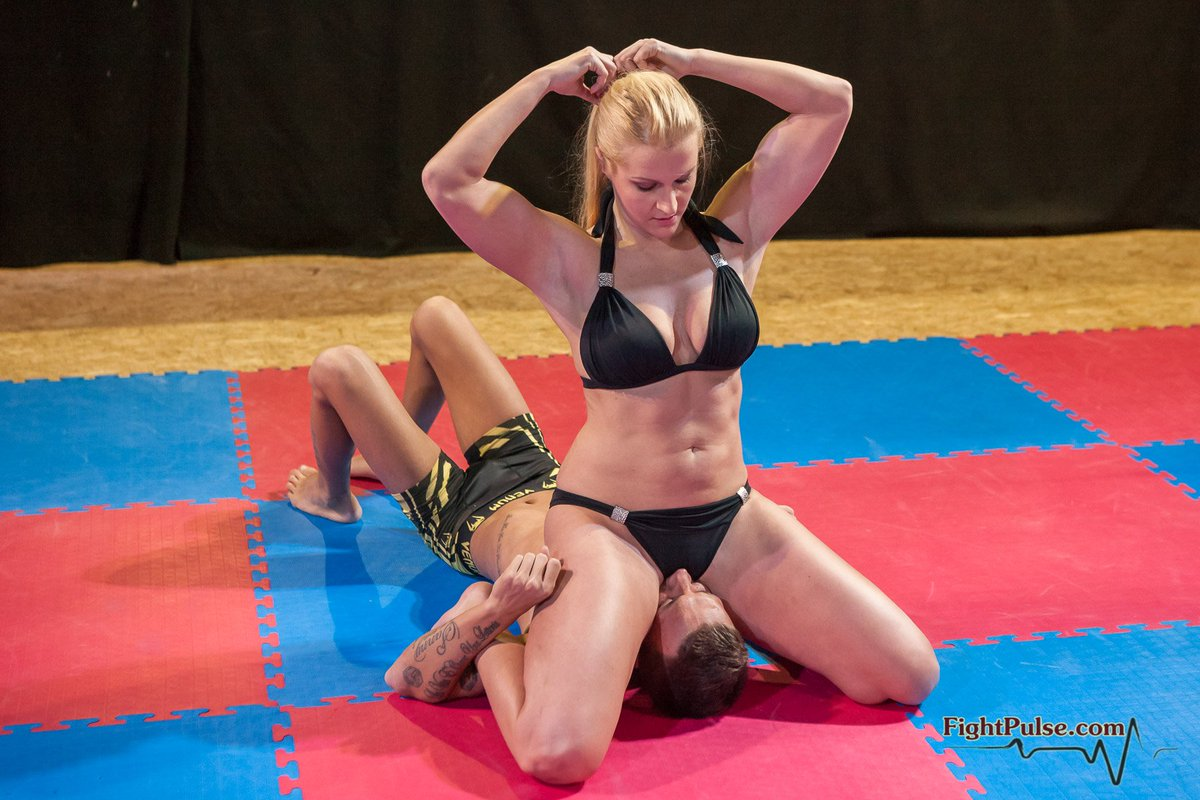 Girl Fighting Stance Clenched Fists Photos