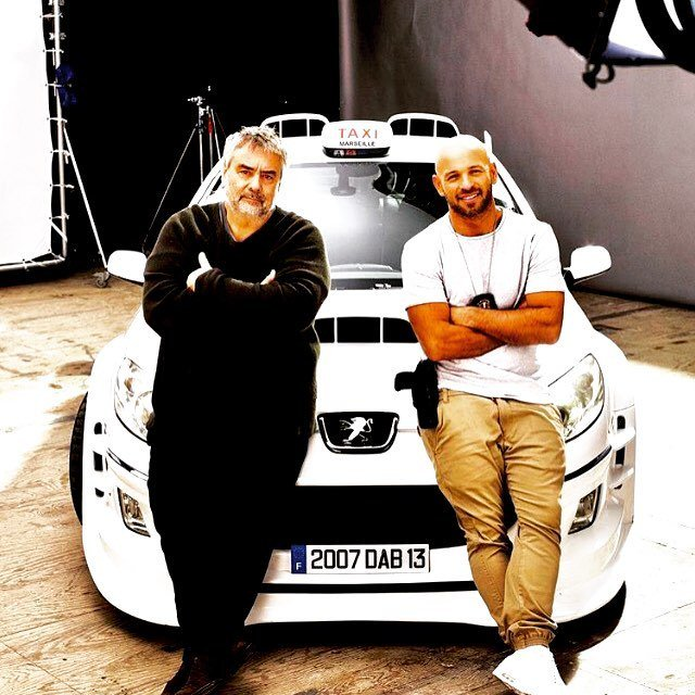 TAXI 5!!!! Merci aux 320.000 spectateurs du premier jour France!!! ❤️ Merci Franck,tu as bossé comme un chef! (Photo:Shanna Besson.😘) #film#comedy #movies #rap #taxi #cinema #marseille #stunt #cars ift.tt/2HcCTA5