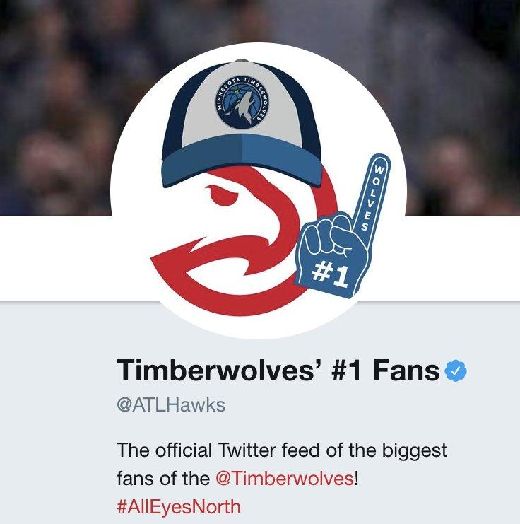 If Minnesota wins, the Hawks get their 1st-round pick ...  The @ATLHawks are all-in �� https://t.co/RL0Wh2yGjR