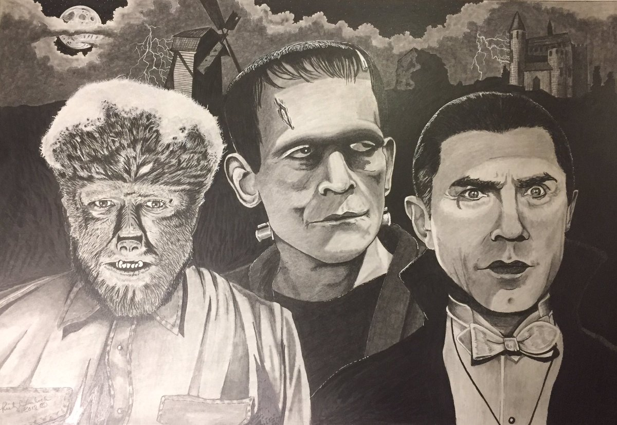 Image result for dracula the wolfman and frankenstein
