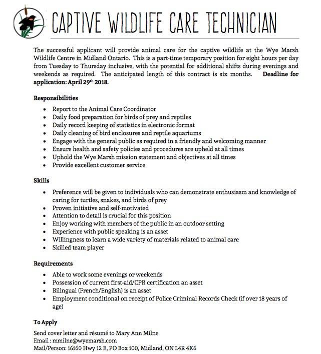 Algonquin Wildlife Research Station Twitterissä: \