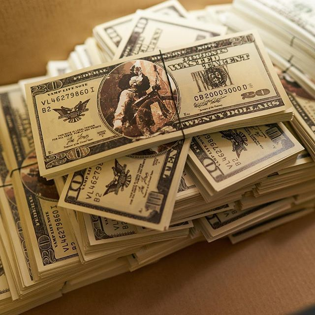 Shoebox Full Of Money.Danny On Twitter Shoebox Full Of Capo Cash Wastedtalent